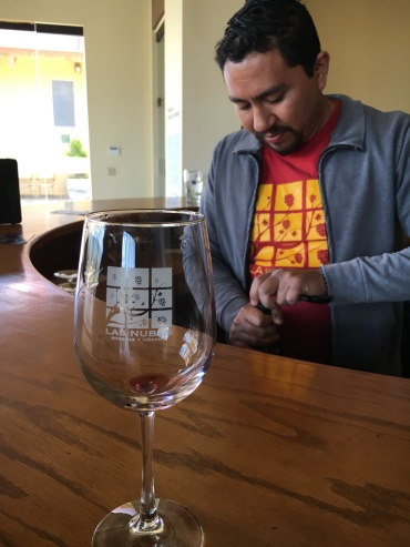 Ivan Lopez of Las Nubes winery.