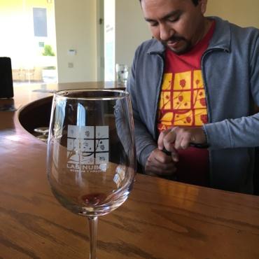 Ivan Lopez of Las Nubes winery.